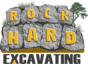 Rock Hard Excavating Logo